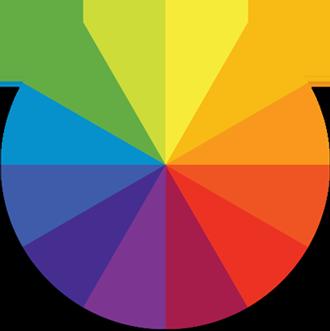 Farben Fussmatten Icon von Entrex